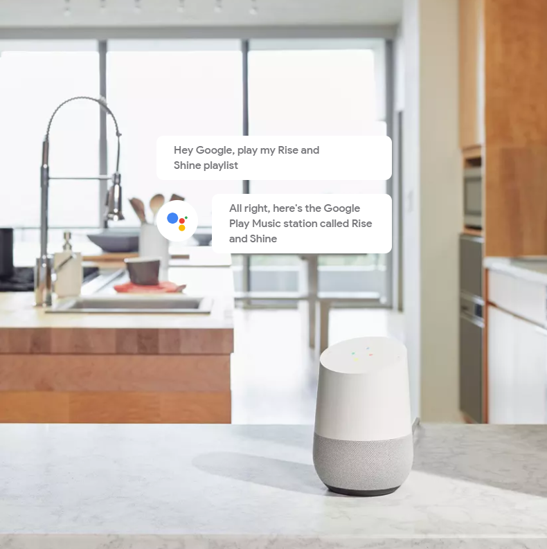 Google Home - Hands-free help from the Google Assistant | Dell USA