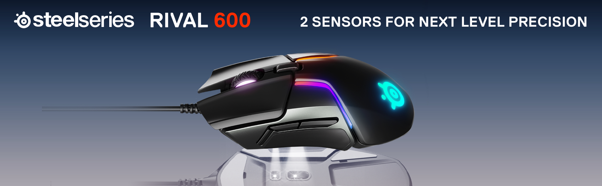 Steelseries Rival 600 Gaming Mouse - RGB Lighting | Canada