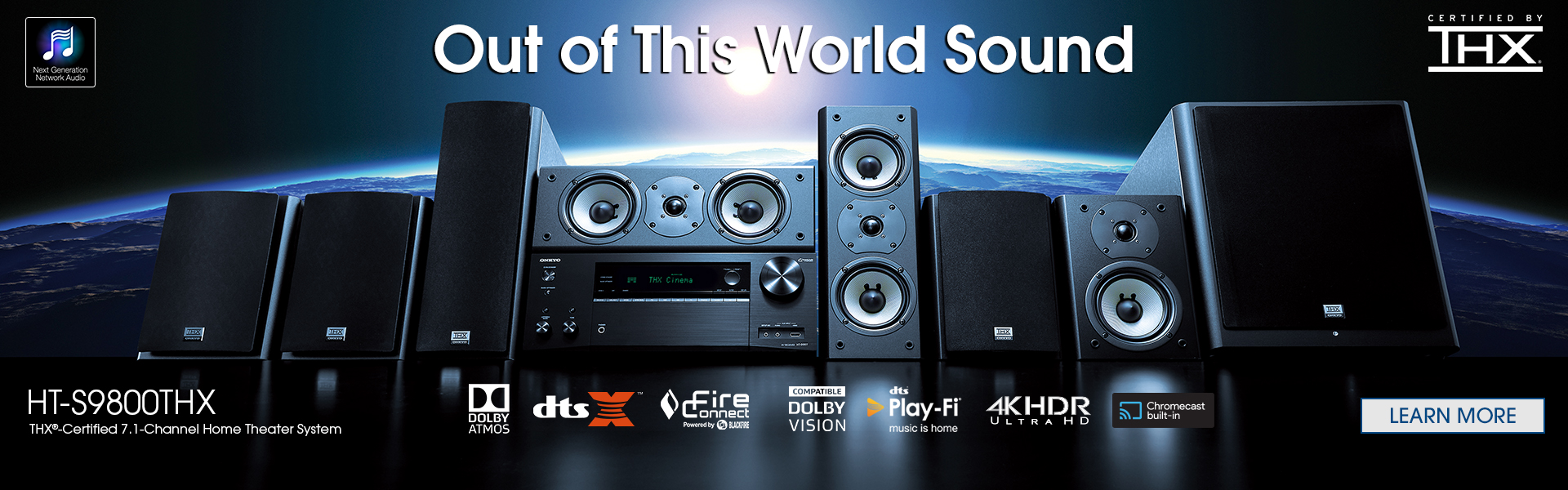 Onkyo THX Certified 7.1-Ch Integrated Network Home Theater System ...