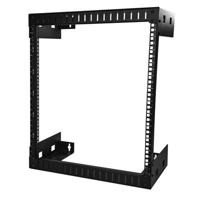 Mount your server or networking equipment using this 12U wall mount rack