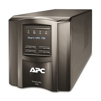 APC by Schneider Electric Smart-UPS SMT750C with APC SmartConnect, Tower, 750VA/500W