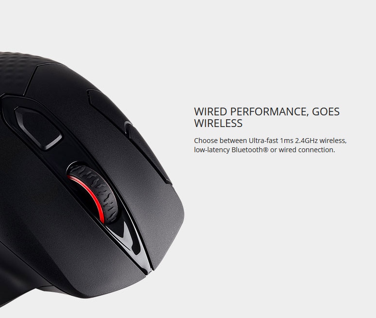 CORSAIR DARK CORE RGB SE Performance Wired / Wireless Gaming Mouse with Qi  Wireless Charging, Black, Backlit RGB LED, 16000 dpi, Optical - Newegg com
