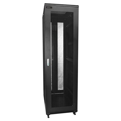 Mount your server or networking equipment in this 42U server cabinet