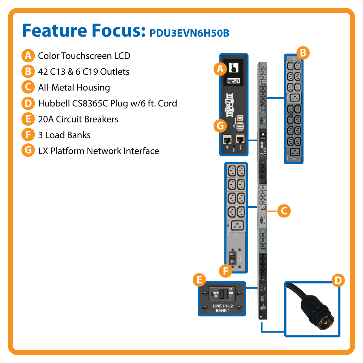 Tripp Lite Pdu 3 Phase Monitored 200 208 240v 145kw 42 C13 6 C19 Hubbell Usb Wiring Diagram Maintain Complete Remote Access To Your Connected Devices From Anywhere 24 7
