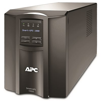 Smart-UPS SMT1000C with APC SmartConnect, Tower, 1000VA/700W