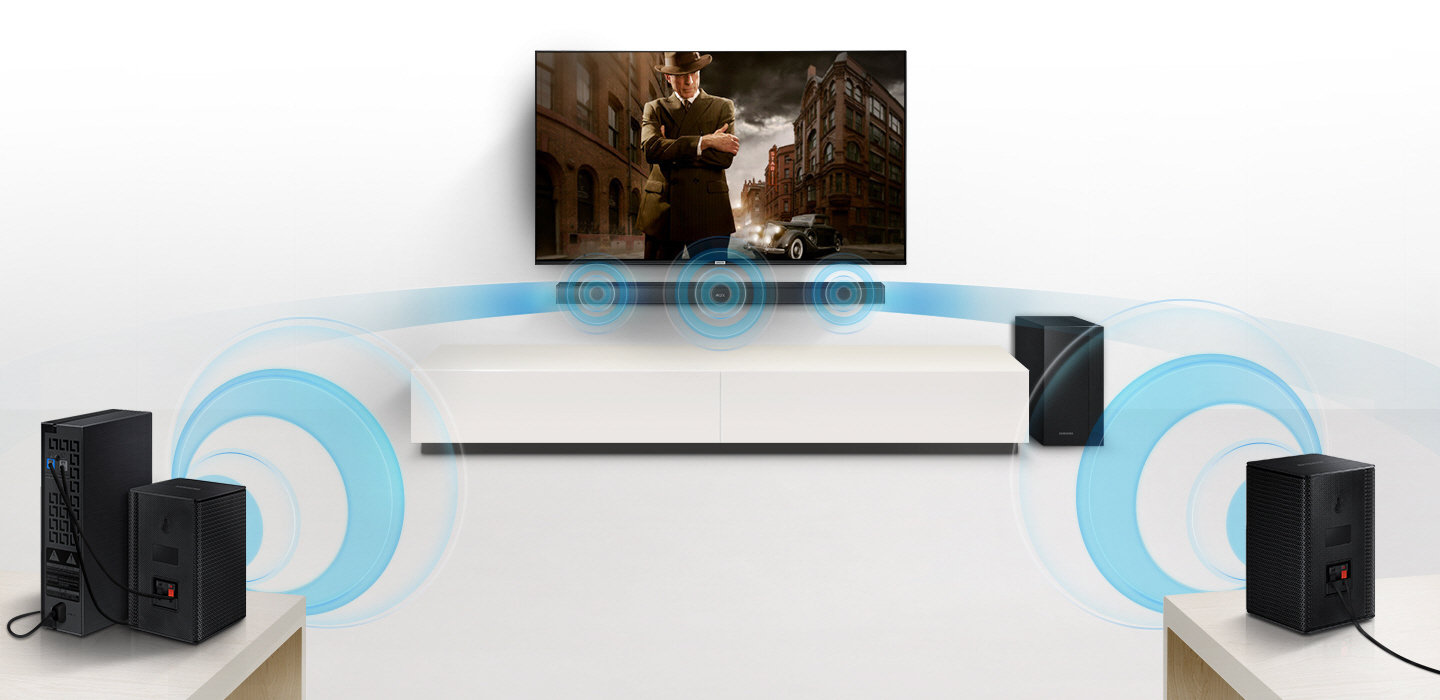 Samsung HW-M360 - Sound bar system - for home theater - 2.1-channel ...