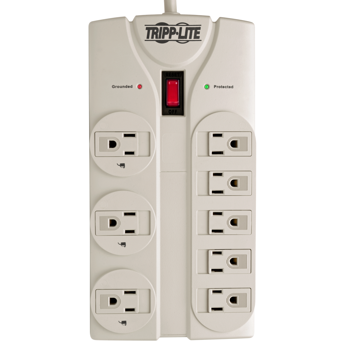 Tripp Lite Surge Protector Power Strip 120v 8 Outlet 8ft Cord 1440 To Remain Somewhat Safe I Mounted The Circuit In A Nema 515p Plug Joules Tlp808 Suppressors