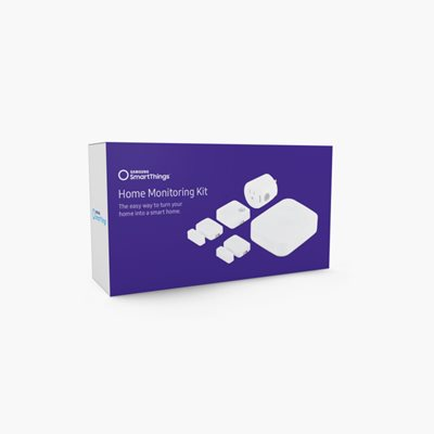 Samsung SmartThings Home Monitoring Kit - Home automation kit - wireless - ZigBee, Z-Wave - white
