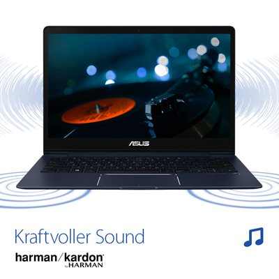 Kraftvoller Sound powered by Harman Kardon