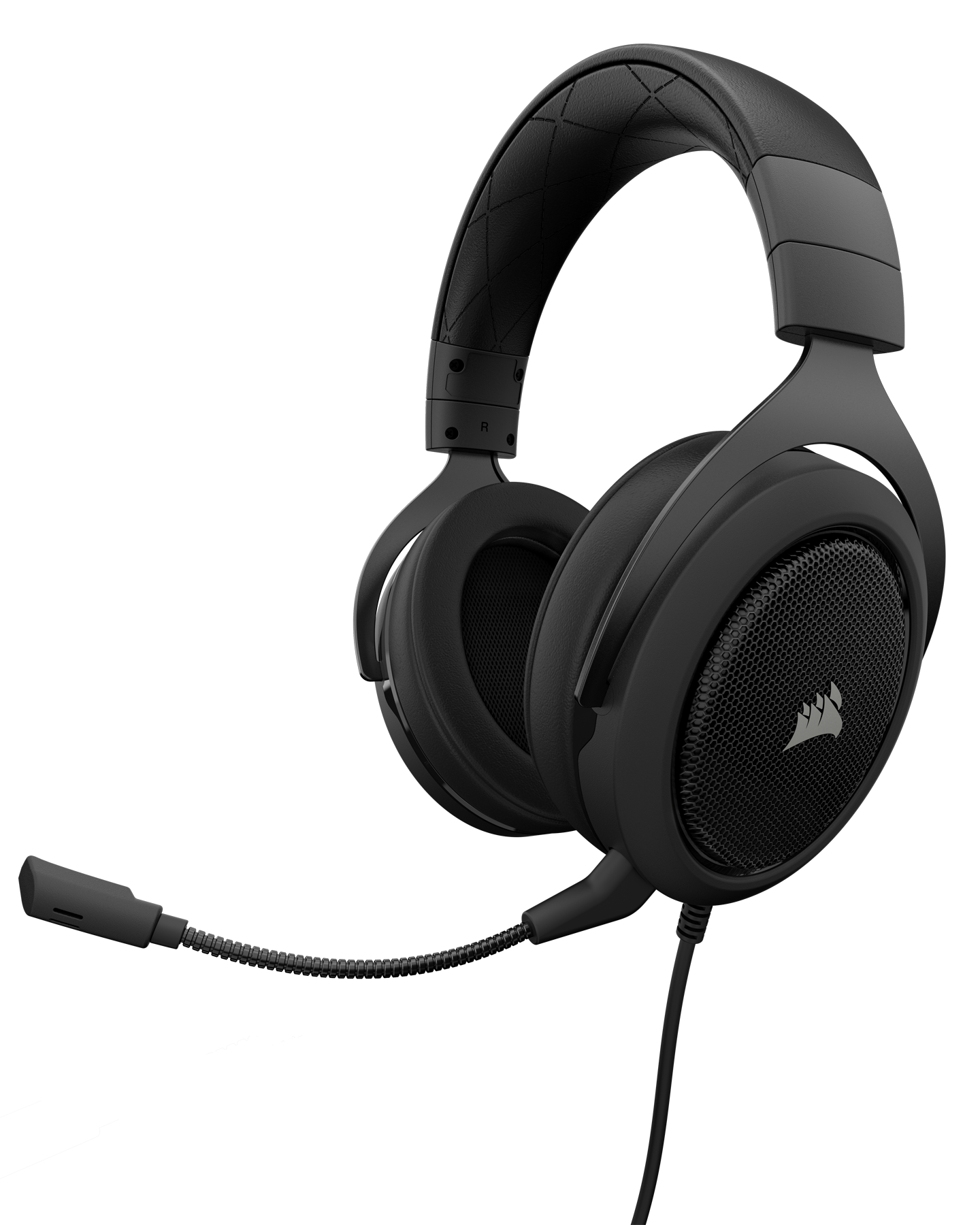Corsair HS60 Surround Stereo Gaming Headset with 7 1 Surround Sound -  Carbon - Newegg com