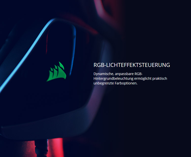 Corsair Gaming VOID Pro RGB Wireless Dolby 7.1 weiß - PC-Headsets ...