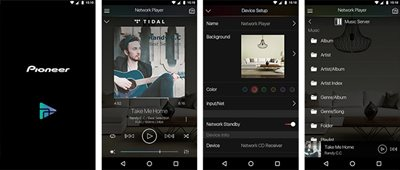 Intuitive Control with New Pioneer Remote App (iOS/Android)*