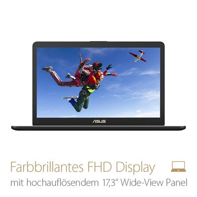 Farbbrillantes FHD Display
