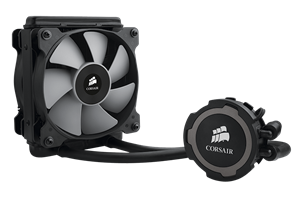 Slim 25mm radiator and dual PWM fans for compact, customizable liquid CPU cooling
