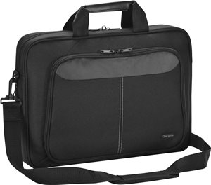 "Targus 15.6"" Lomax Topload Laptop Case, Black (TBT240US)"