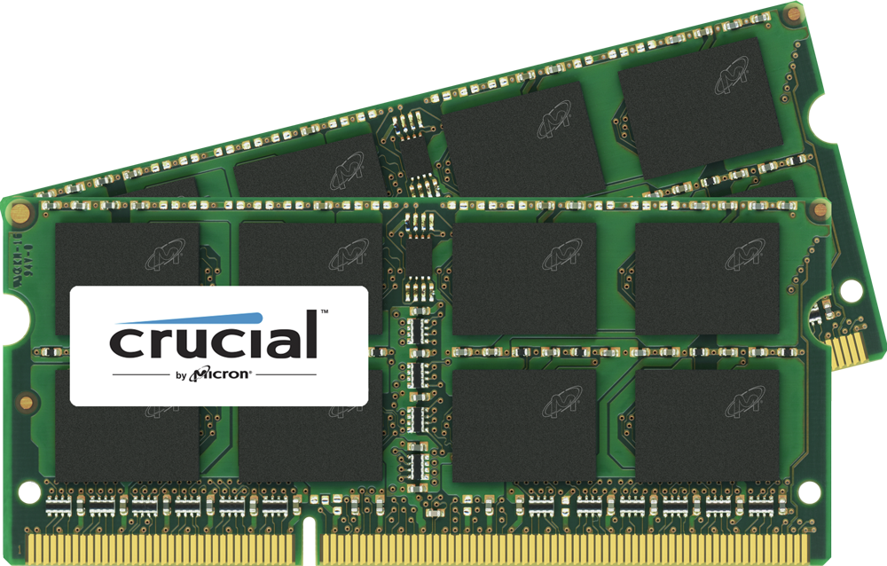 Crucial 4gb 204 Pin Sodimm Ddr3 Pc3 12800 Memory Module By Office