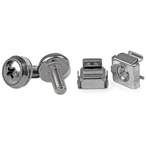 Install your rack-mountable hardware securely with these high quality screws and nuts