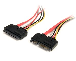 Extend SATA Power and Data Connections by up to 1ft
