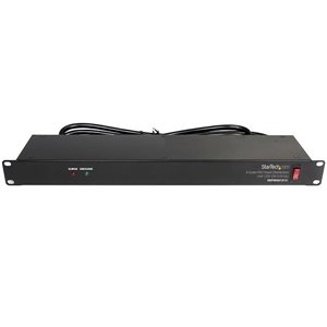 Protect your equipment while adding eight additional power outlets to your server rack, with this 19in power distribution unit