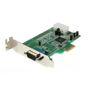 Add a RS-232 serial port to your standard or small form factor computer through a PCI Express expansion slot