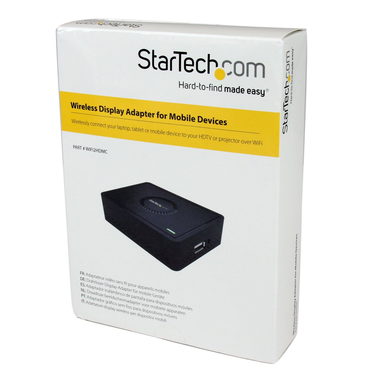 StarTech com HDMI Wireless Display Adapter for Miracast Devices - 1080p