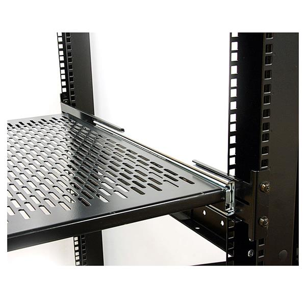 Adjustable Rails Offer Compatibility With Almost Any Server Rack Or Cabinet