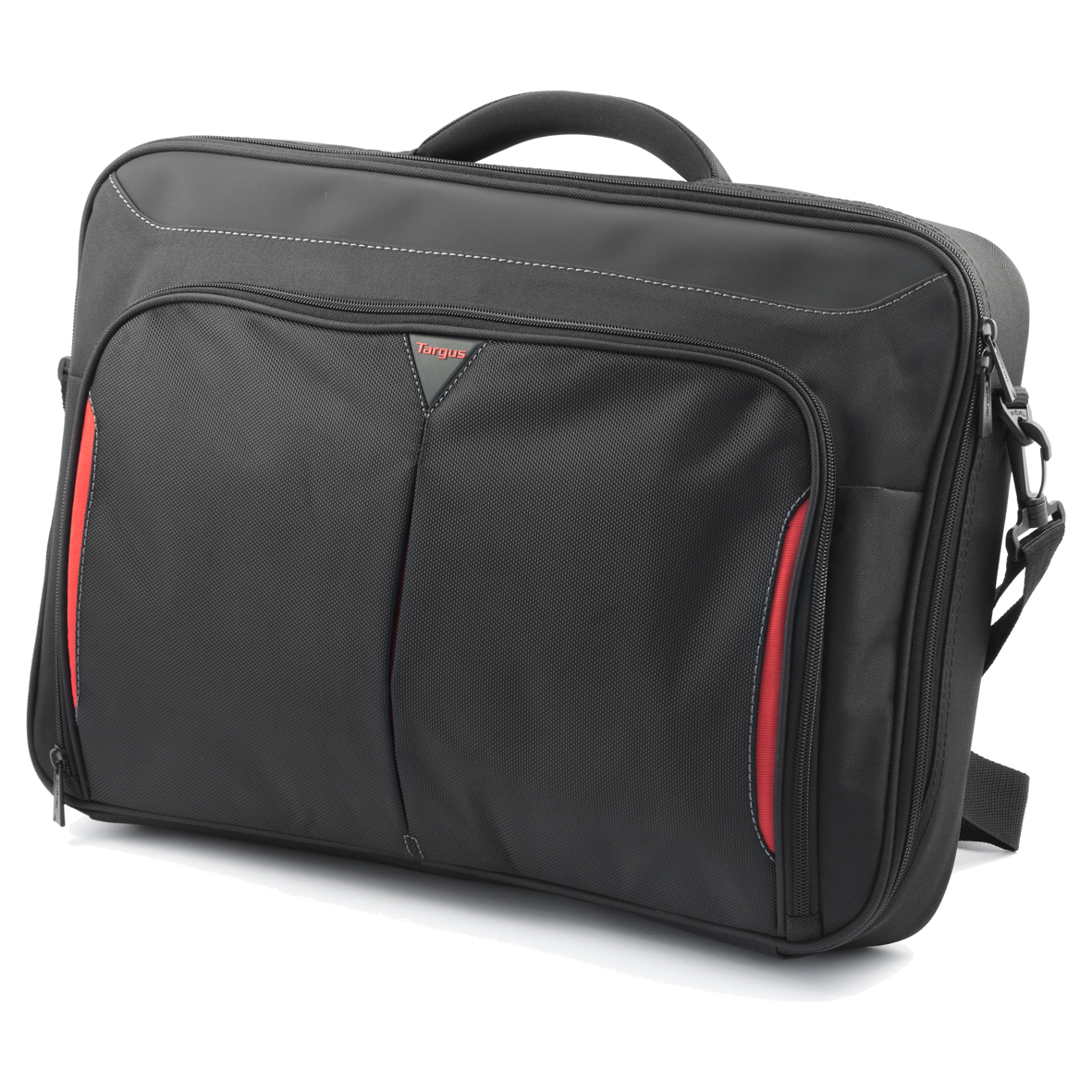 5d352695ac2db Targus CN418 17'' - 18'' Laptop Briefcase, Polyester, Padded, Black ...