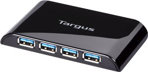 Targus 4-Port USB 3.0 SuperSpeed Hub (ACH119US)