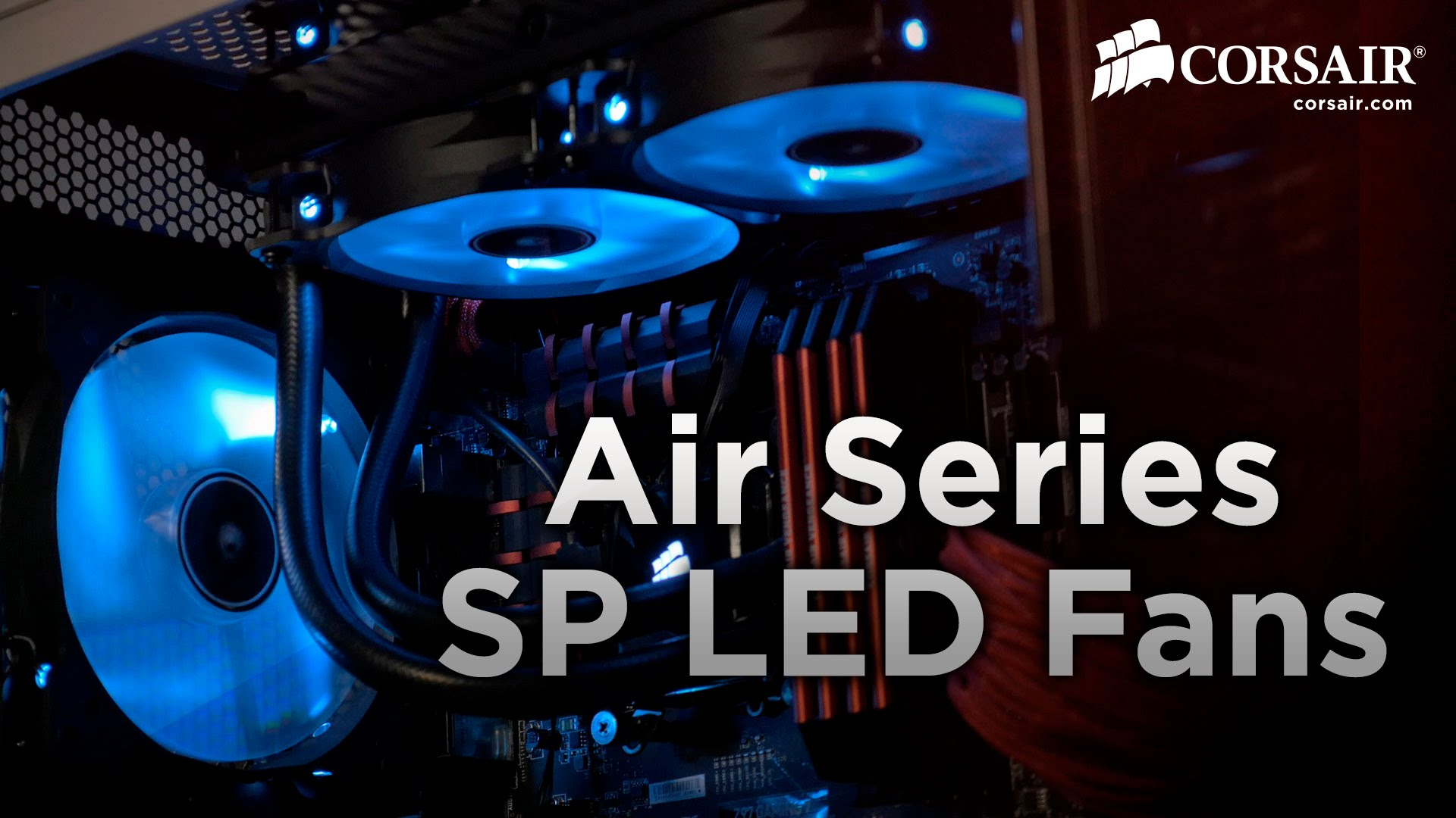Corsair Air Series Af120 Led White Quiet Edition High Airflow 120mm Deepcool Xfan 12cm Casing Fan Red Slide 1 Of 7show Larger Image Superior Cooling Performance And Illumination