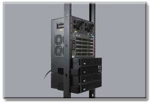 Economically Organize Equipment with the 2-Post, 25U Open Frame Rack