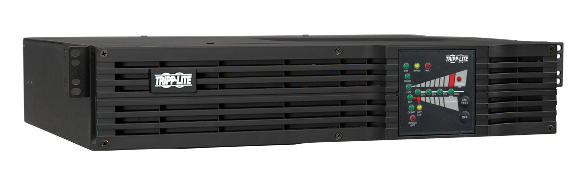 slide 2 of 5,show larger image, su1000rtxl2ua smartonline® double-conversion rack/tower ups sine wave ups with expandable runtime and network slot