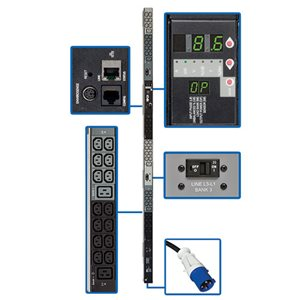3-Phase Power Distribution with a Digital Meter and Remote Monitoring