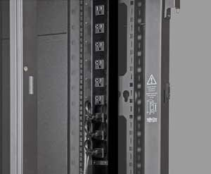 Product | Tripp Lite PDU Monitored 120V 20A 5-15/20R 24 Outlet L5-20P  Vertical 0URM - vertical rackmount - power distribution unit - 1.9 kW