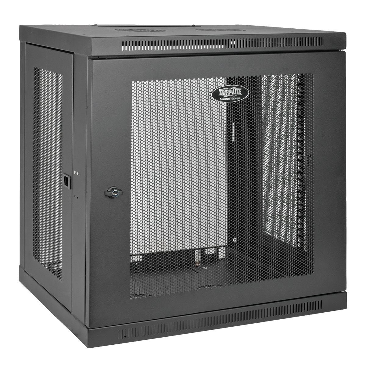 Tripp Lite 12u Wall Mount Rack Enclosure Server Cabinet W Door Side Panels Rack 12u Dell Usa
