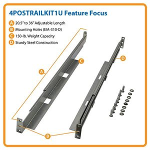 Add More Functionality to Your 4-Post Racks