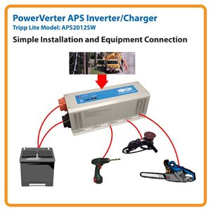 Quiet and Reliable Power Source in an Inverter/Charger