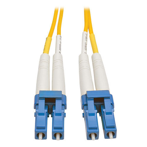 Tripp Lite 3M Duplex Singlemode 8 3/125 Fiber Optic Patch Cable LC/LC 10'  10ft 3 Meter - patch cable - 3 m - yellow