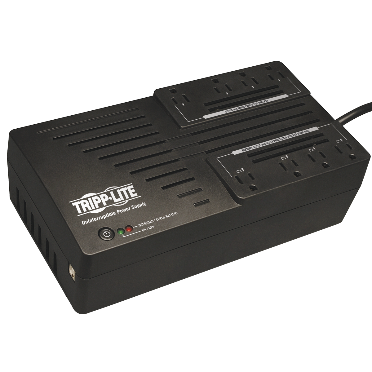 Macmall Tripplite 700va 350w Ups Desktop Battery Back Up Avr Automatic Switching For 8211 Usb Power Connection Media
