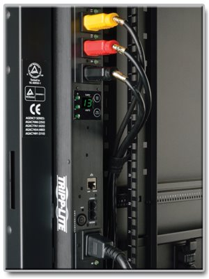 Effective 3-Phase Power Distribution with a Digital Meter and Remote Control of 24 Outlets