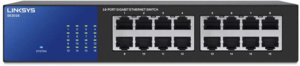 Linksys SE3016 16-Port Gigabit Ethernet Switch