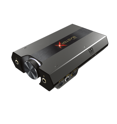 Hi-Res Gaming DAC and USB Sound Card with Headphone BI-AMP