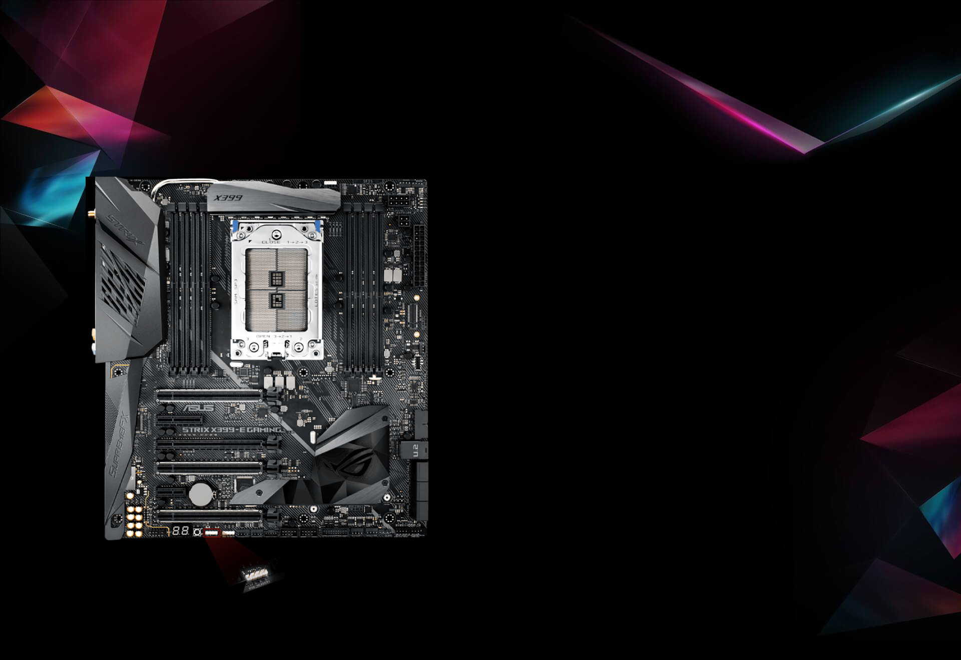 ASUS ROG Strix X399-E Gaming - motherboard - extended ATX - Socket TR4 - AM