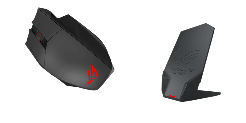 ASUS ROG Spatha RGB Wireless / Wired Laser Gaming Mouse - Newegg com