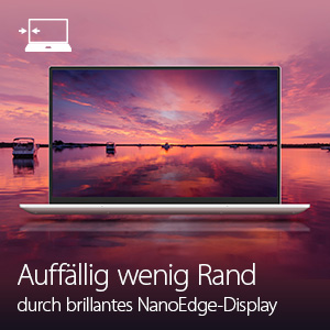 Einzigartiges NanoEdge-Display