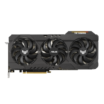 TUF Gaming GeForce RTX™ 3070 Ti OC Edition 8 GB GDDR6X buffed-up design with chart-topping thermal performance.