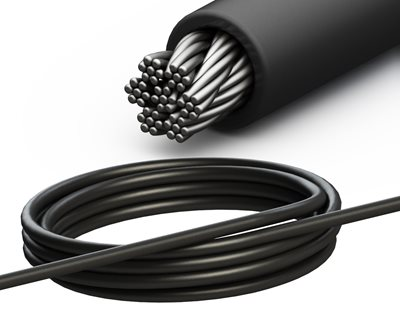 Cable de acero de 4 mm con lazo