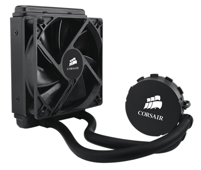 CORSAIR Hydro Series H55 Quiet Edition Water / Liquid CPU Cooler 120mm  (CW-9060010-WW) - Newegg com