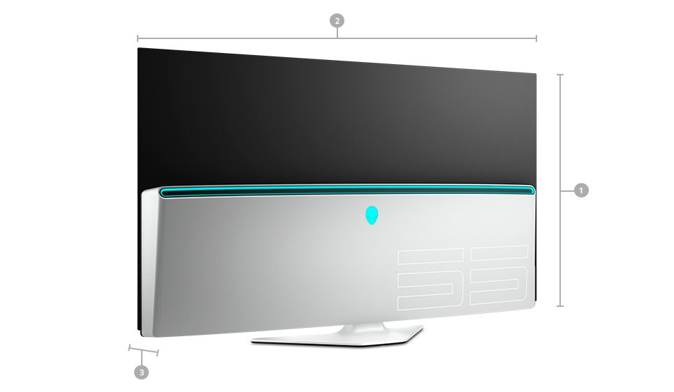 Dell Alienware Monitor para Gaming OLED de 55 : AW5520QF