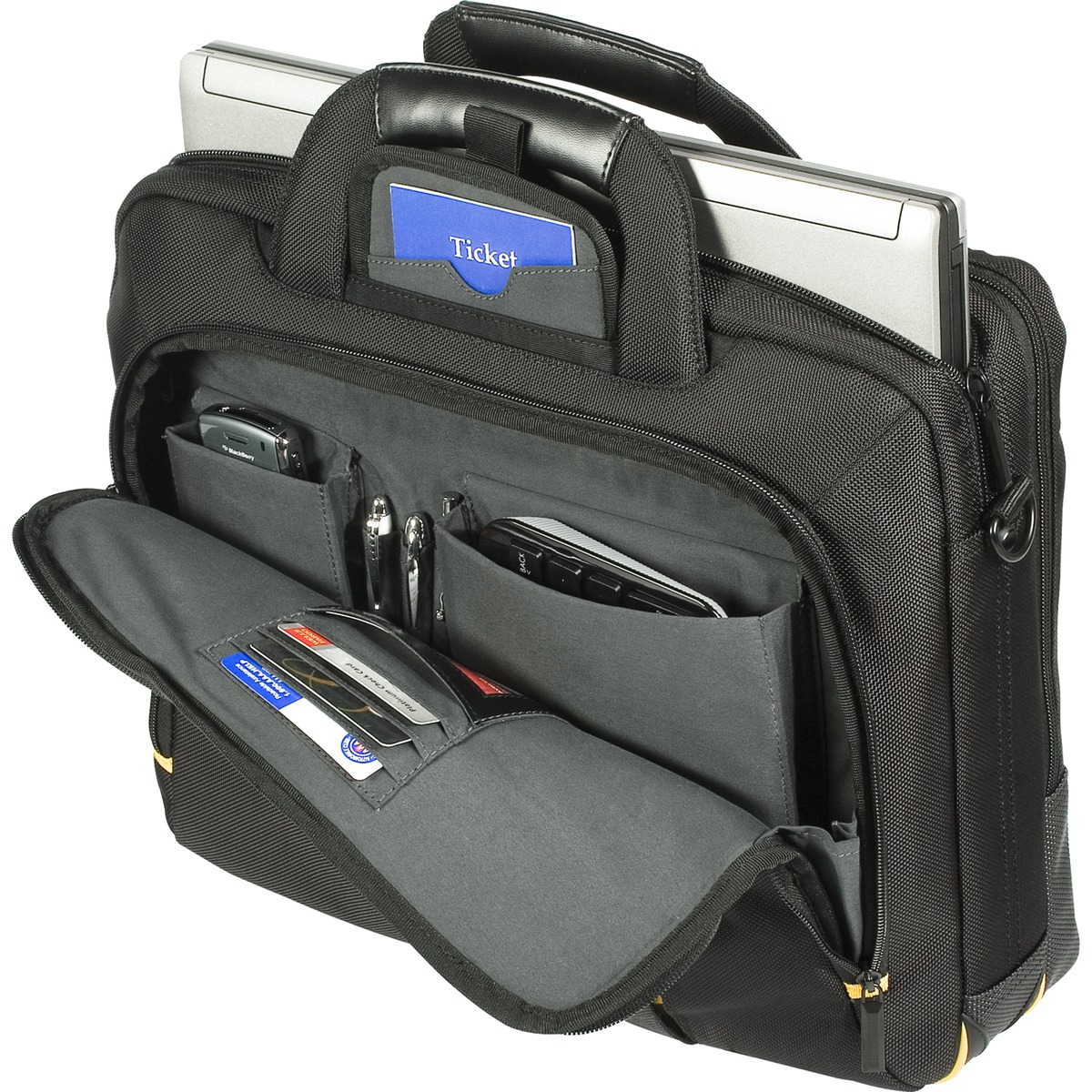 Fits up to 15.6 for XPS Latitude Vostro Precision Inspiron 10 11 12 12.1 13 14 15 460-11499 39.6 cm Genuine Original DELL Targus Meridian II Toploader 15.6 Notebook Laptop Case BAG Dell P//N : H2R13 laptops