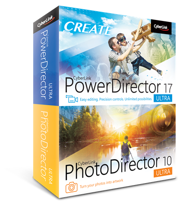 CyberLink PowerDirector 17 & PhotoDirector 10